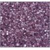 2 Cut Beads Luster Light Amethyst 10/0